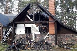 Pożar domu w Głodowie