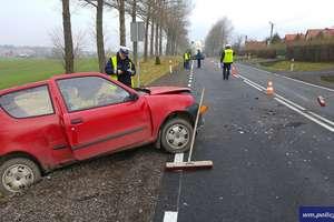 Niebezpiecznie na drogach regionu w weekend