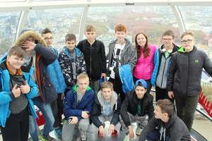 Siatkarze z Gimnazjum Sportowego zwiedzali Londyn