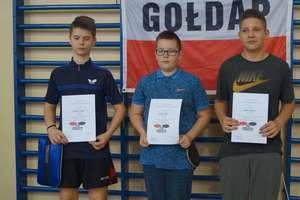 II kolejka ligi tenisa stołowego w Gołdapi