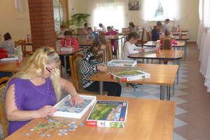 Pierwsze ogólnopolskie zawody w układaniu puzzli w Gołdapi