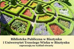 O historii ogrodów opowie dr Małgorzata Kadelska