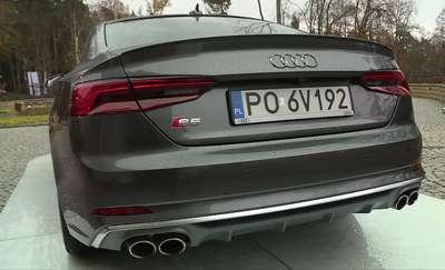 Odświeżone Audi S5 ma moc