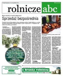 Rolnicze ABC - grudzień 2016