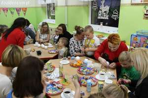 Świąteczne warsztaty w przedszkolu przy Grunwaldzkiej