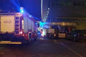 Alarm pożarowy w Galerii Batory