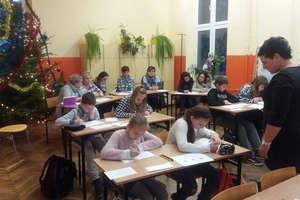 Język polski da się lubić, czyli lekcja otwarta w szkole w Krawczykach