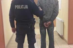 33-latek włamał się do mieszkania i ukradł alkohol