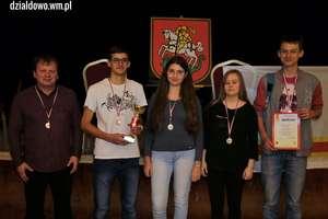 Mamy srebrny medal w Drużynowych Mistrzostwach Województwa w szachach