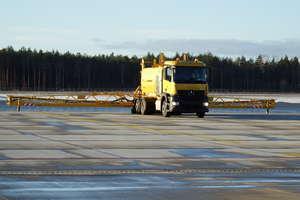Lotnisko Olsztyn-Mazury zimy się już nie boi