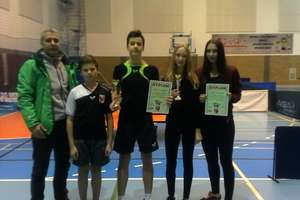 Gołdapscy gimnazjaliści zwyciężcami turniejów tenisa stołowego