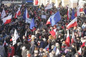 Strajki obywatelskie w całej Polsce. Warmia i Mazury przyłączają się do protestu w sprawie dymisji rządu [MAPA]