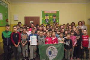 Szkoła w Żydowie po raz drugi otrzymała certyfikat Zielonej Flagi