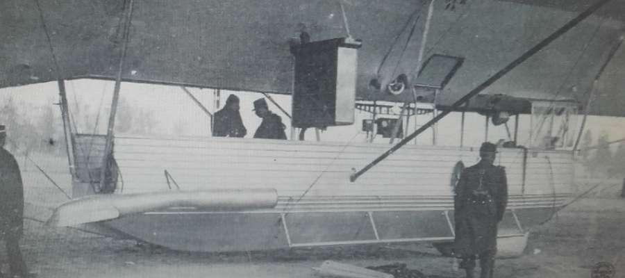 Gondola sterowca Z.IV.