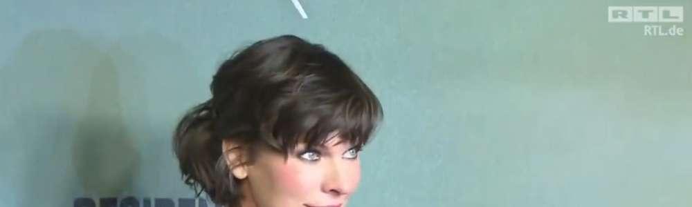 Milla Jovovich na premierze filmu Resident Evil: Ostatni rozdział