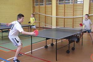 Otwarty turniej tenisa stołowego chłopców w SP nr 3