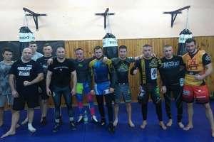 Fighterzy MMA Team Ostróda nowy rok zaczęli od zapasów