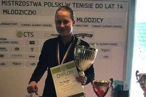 Pola Wygonowska została halową mistrzynią Polski młodziczek