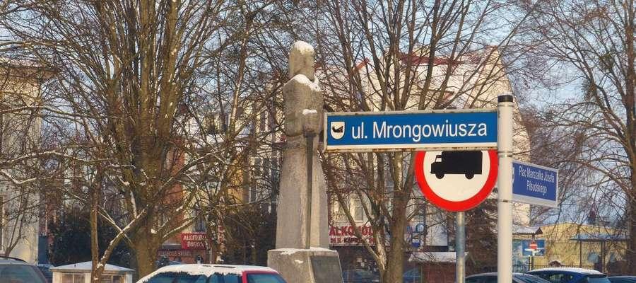 Ul. Mrongowiusza była kiedyś ul. Lenina