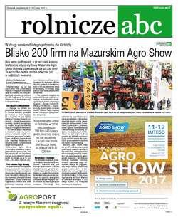 Rolnicze ABC - luty 2017