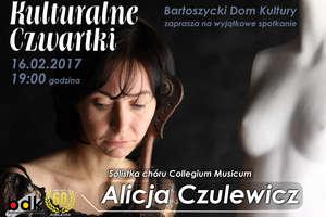Kulturalne Czwartki - Alicja Czulewicz