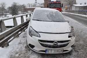 Wypadki i kolizje. Groźnie na drogach po ataku zimy