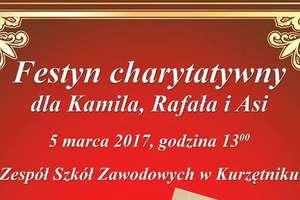 Festyn dla chorych uczniów Zespołu Szkół Zawodowych w Kurzętniku