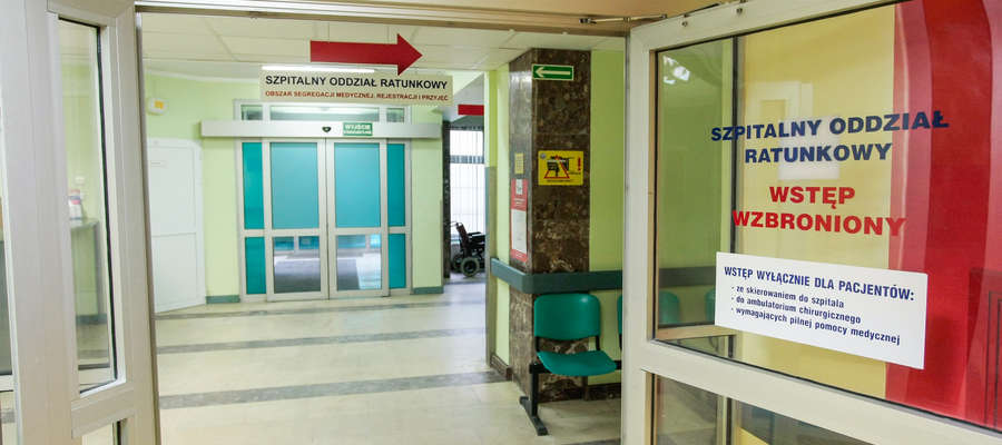 Od połowy marca szpitale nie muszą być w pełnej gotowości przez 24 godziny na dobę