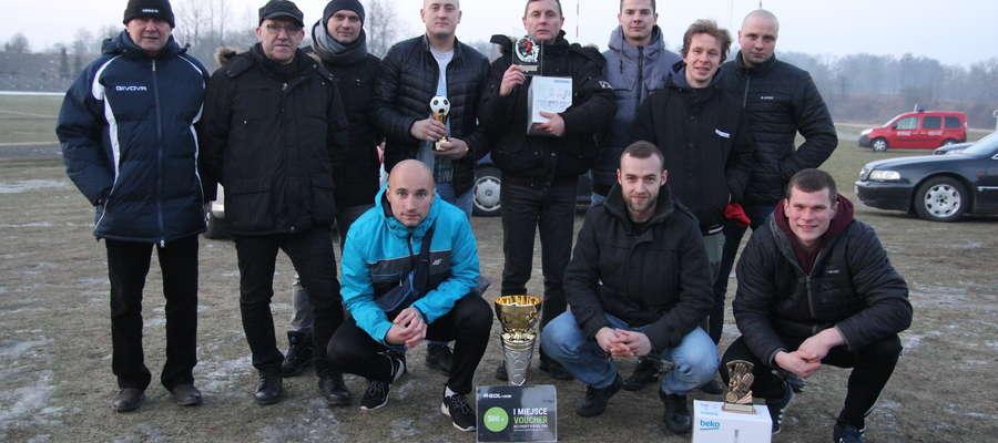Zwycięski zespół Victorii Bartoszyce