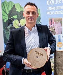 Jacek Linder, PR and Marketing Manager z Oxytree Solutions Poland