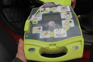 Defibrylator w OSP w Bisztynku