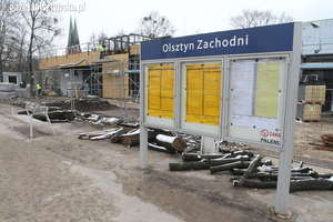 Jak wyglądają prace remontowe na dworcu zachodnim w Olsztynie?