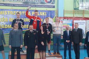 Strażak z Ornety Mistrzem Polski w Badmintonie