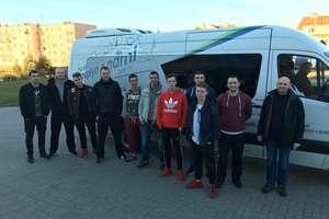 Szczypiorniści Orkana Ostróda już wyjechali na mecz do Gryfina.