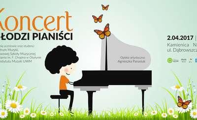 """""""Młodzi pianiści"""" w Kamienicy Naujacka"""