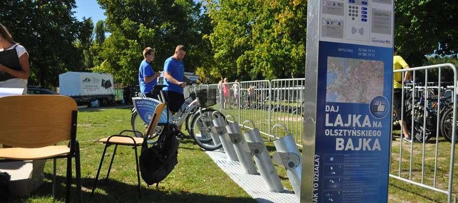 Olsztyński rower miejski to jeden z projektów zgłoszonych w poprzednich edycjach OBO.