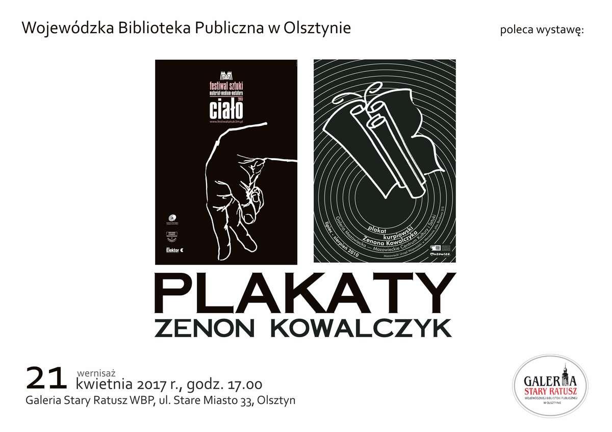 Wystawa Plakaty Zenona Kowalczyka w Galerii Stary Ratusz WBP - full image