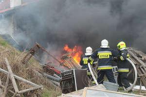 Dzięki sprawnej akcji uratowali stodołę przed pożarem
