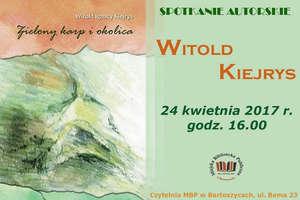 Spotkanie autorskie z Witoldem Kiejrysem