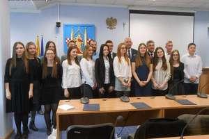 Uczniowie z Grunwaldzkiej na czele Młodzieżowej Rady Miasta Działdowo