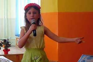 Wiosenne spotkania z poezją w szkole podstawowej w Krawczykach