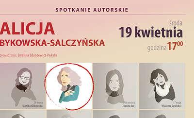 Spotkanie z Alicją Bykowską-Salczyńską