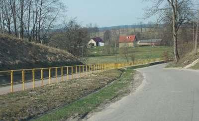 Rowerem z Biskupca do Rukławek