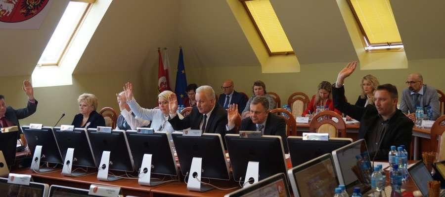 Sesja Rady Powiatu w Elblągu