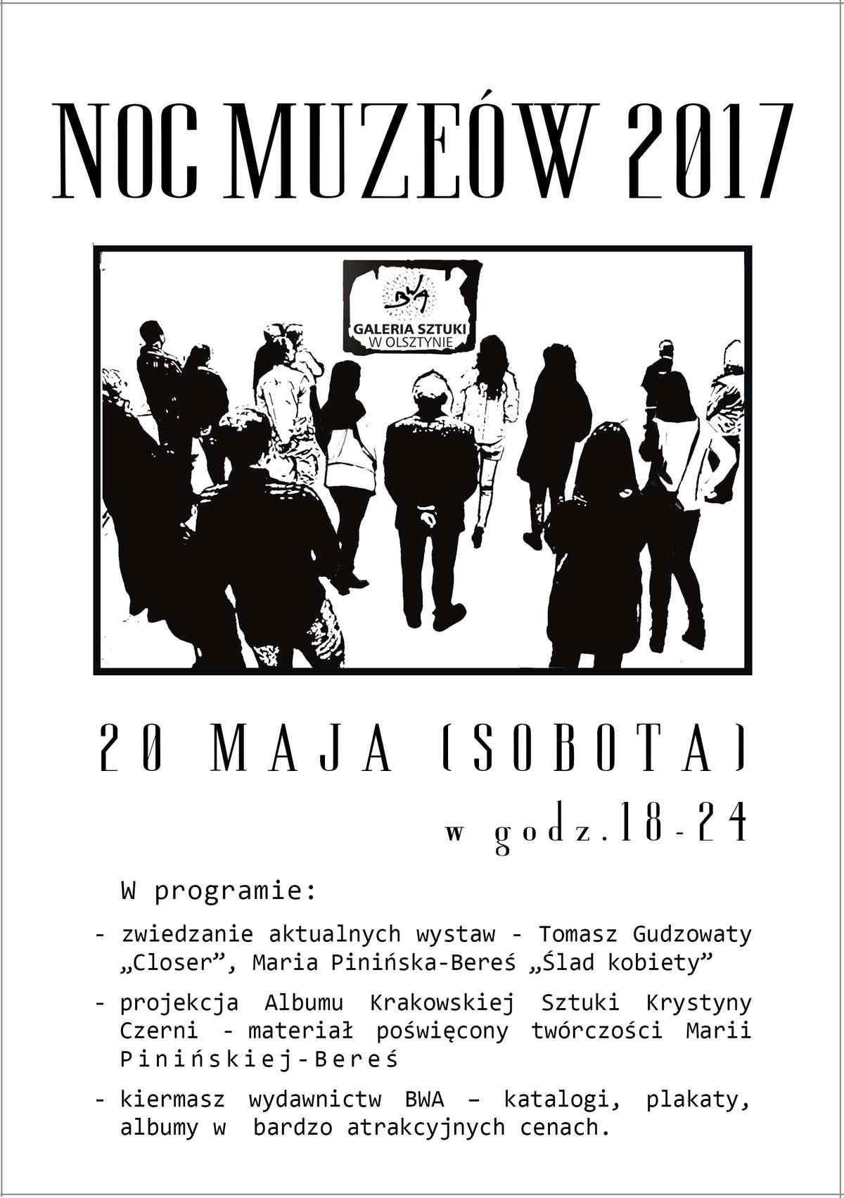 Noc Muzeów w BWA w Olsztynie - full image