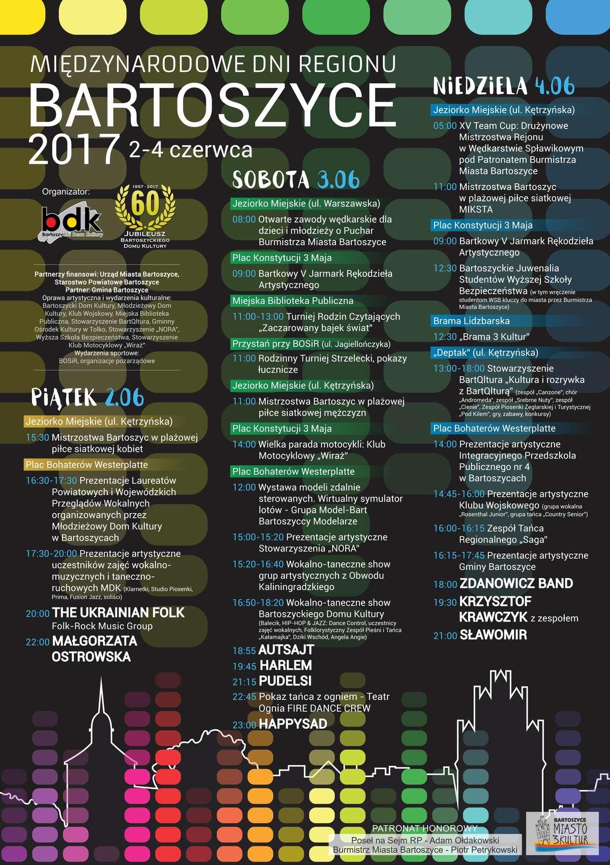 Międzynarodowe Dni Regionu Bartoszyce 2017 - full image