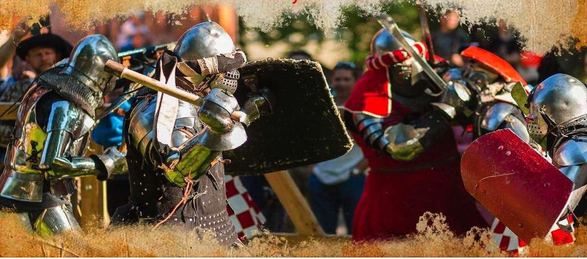 Parada, bieg dam i inscenizacja bitwy. Przed nami IV Turniej Rycerski o włócznię św. Jerzego - full image