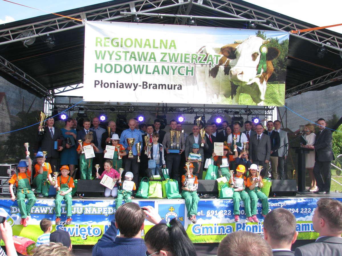 Regionalna Wystawa Zwierząt Hodowlanych w Płoniawach-Bramurze (pow. makowski) w 2016 roku