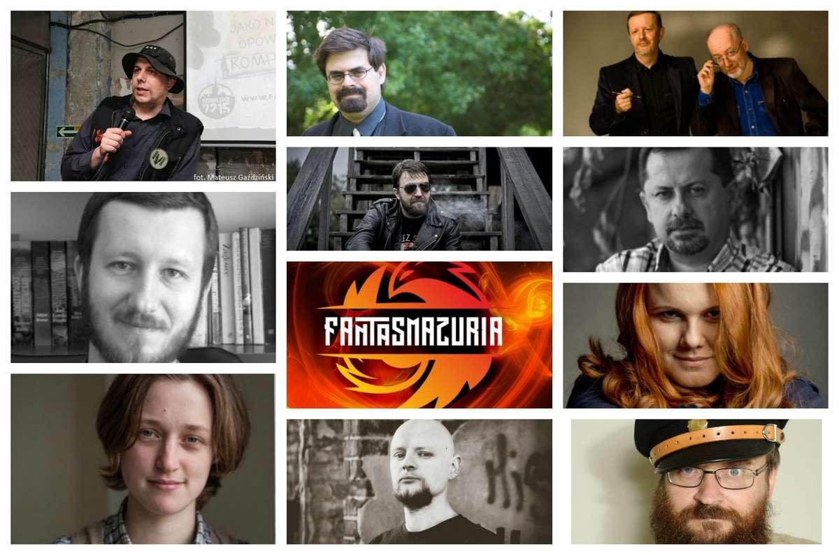 Znani twórcy literatury fantastycznej na Fantasmazuria w Ostródzie - full image