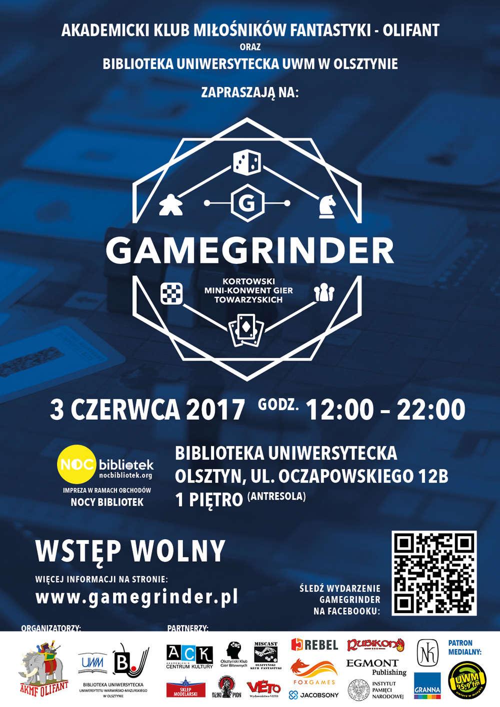 Kortowski Mini-konwent Gier Towarzyskich GAMEGRINDER - full image